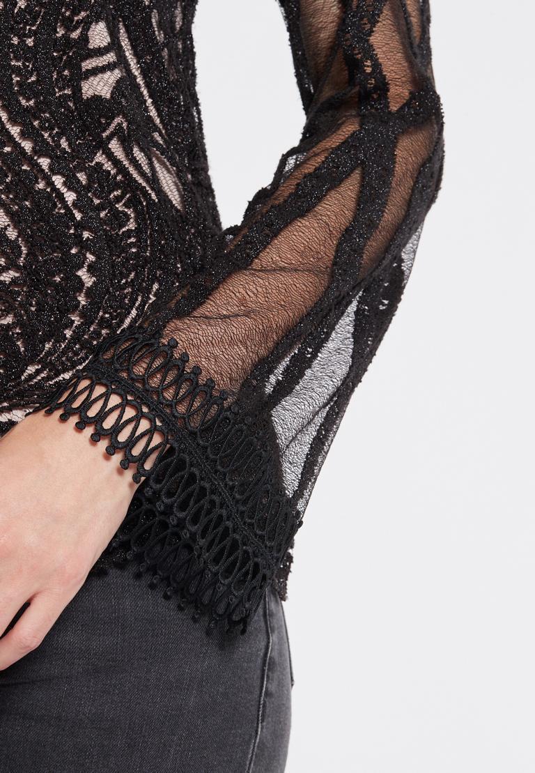 Detailansicht von Ana Alcazar Spitzen Shirt Ranja