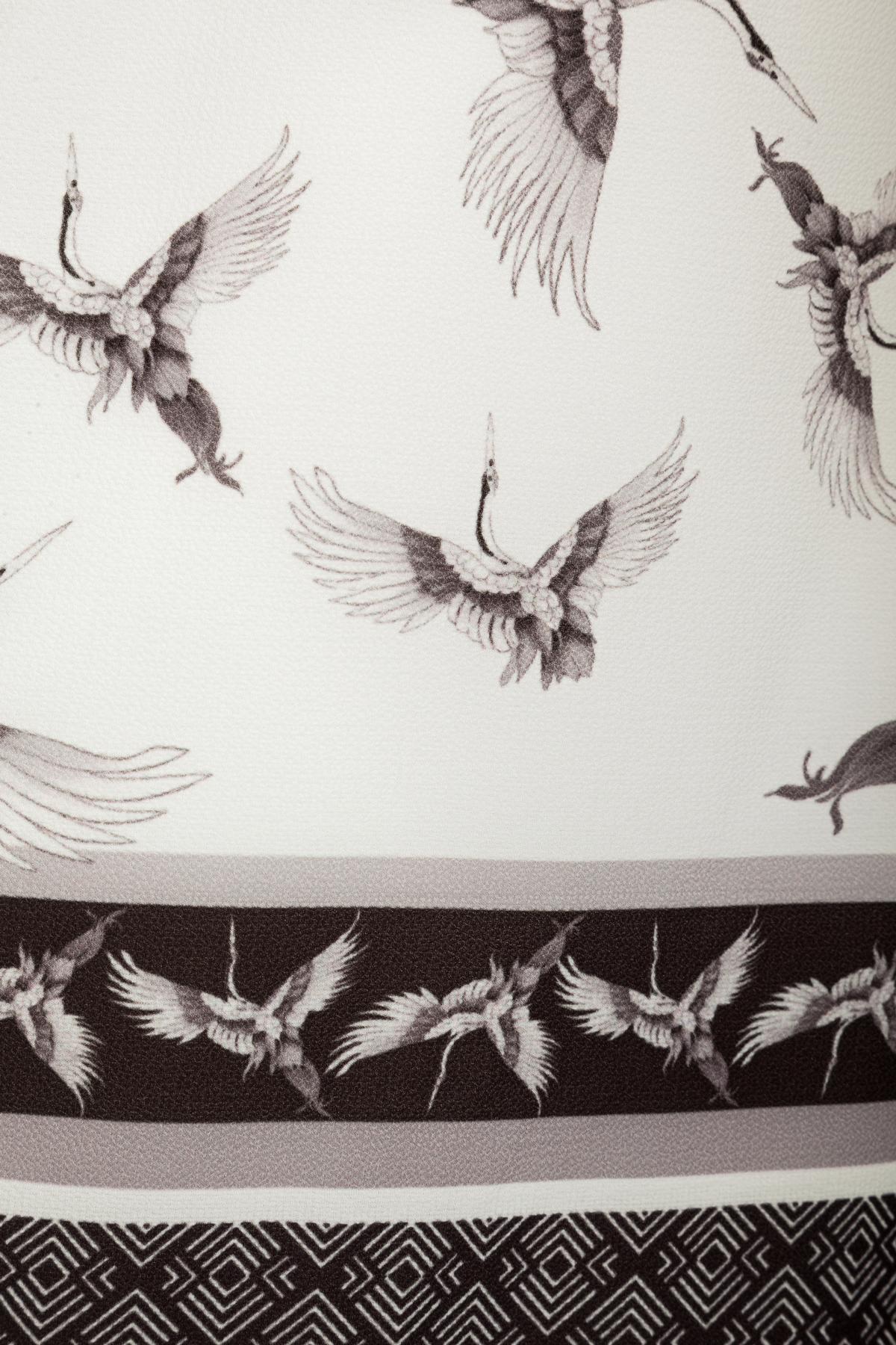 Detailansicht von Ana Alcazar Asia Tunika Kleid Meily White