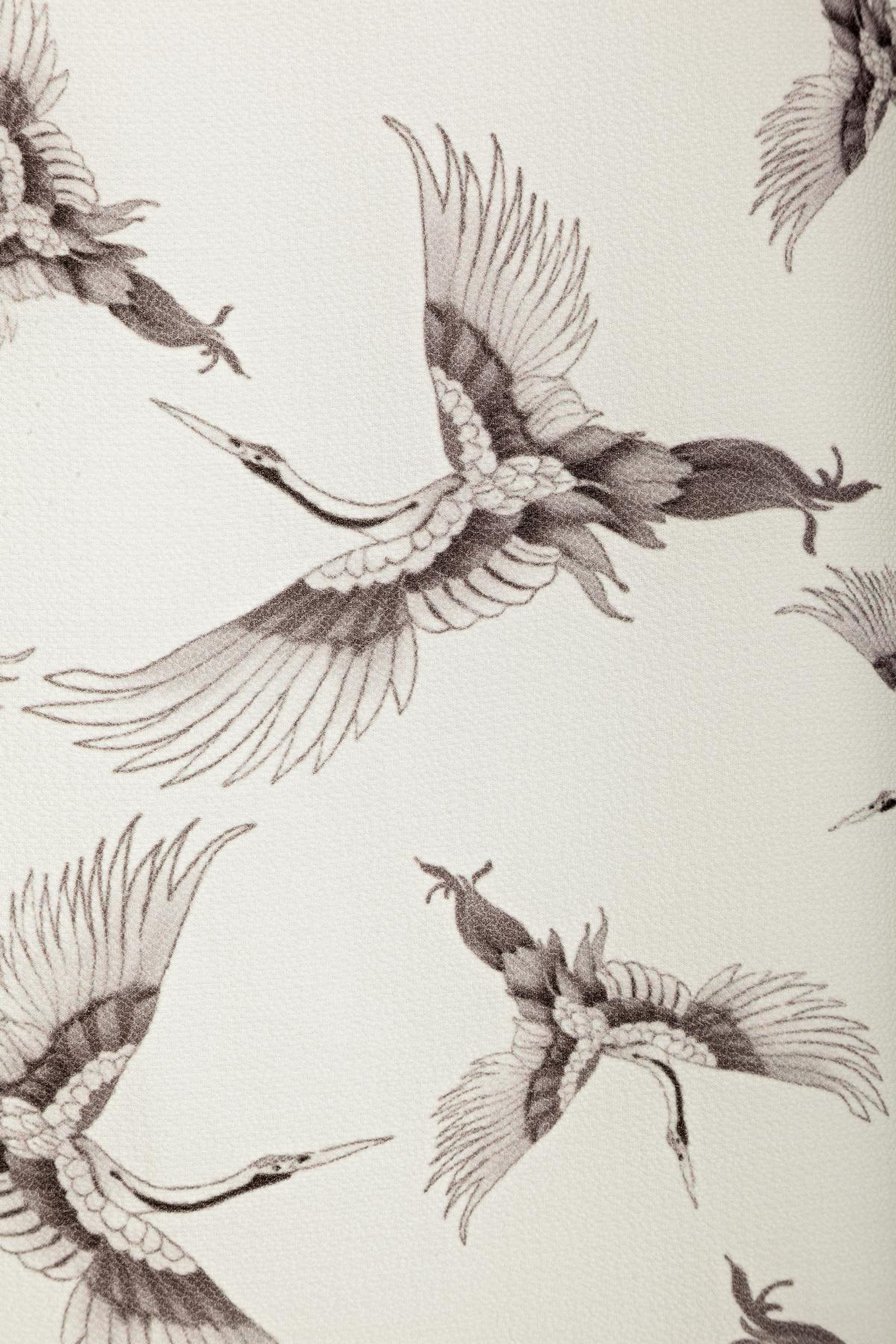 Detailansicht von Ana Alcazar A-Linien Kleid  Meilea White
