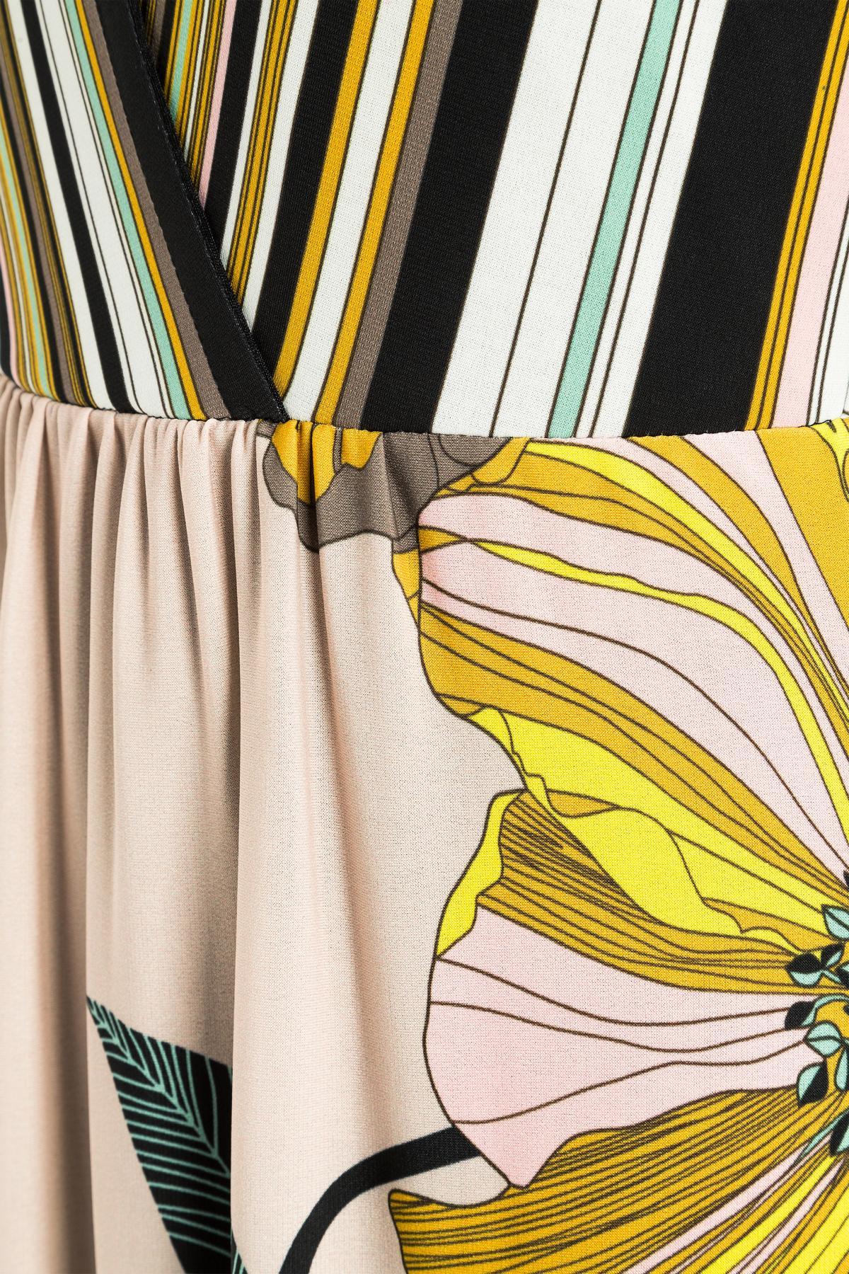 Detailansicht von Ana Alcazar Jerseykleid Majandres