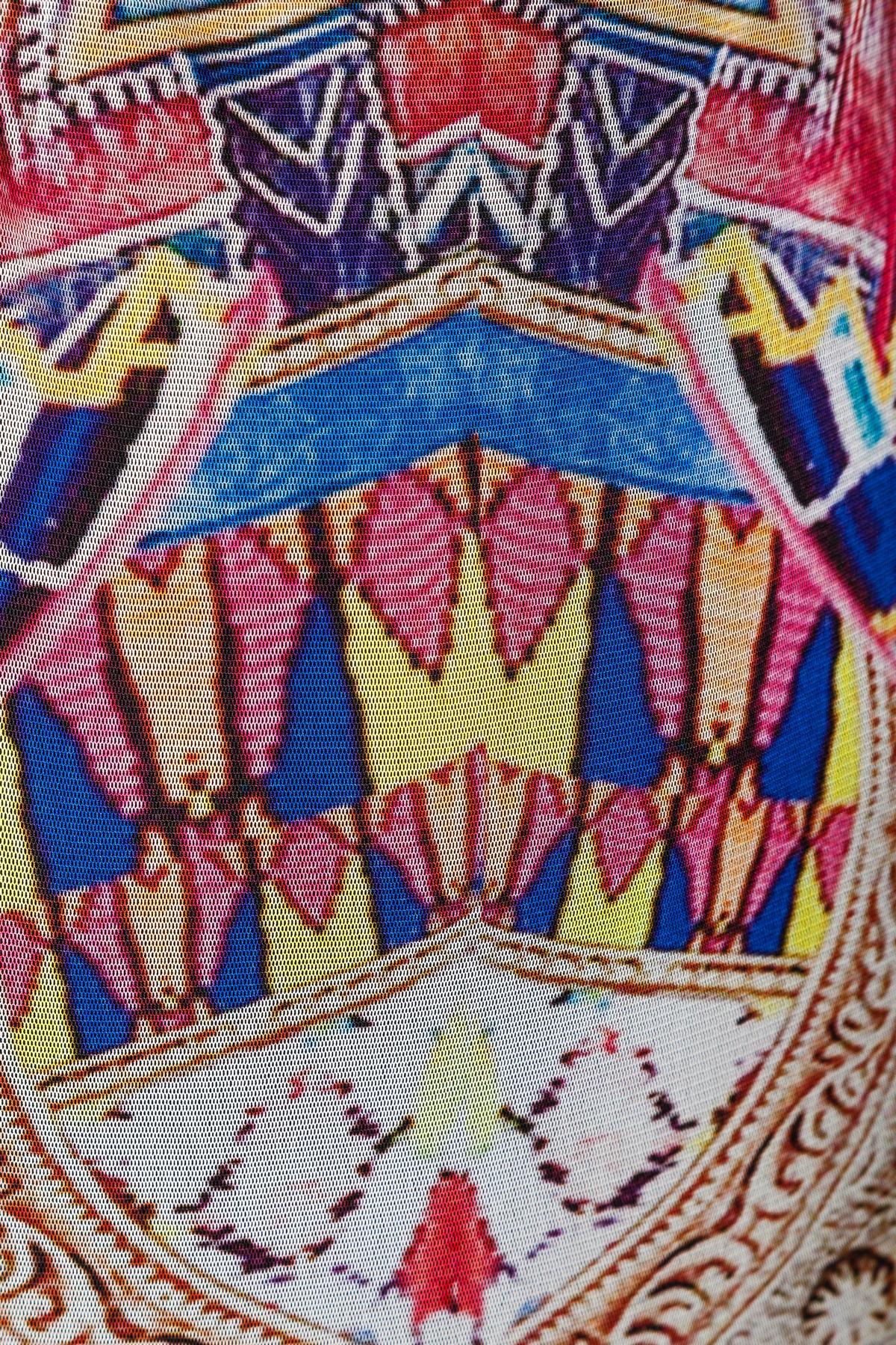 Detailansicht von Ana Alcazar Etui Kleid Melibessa