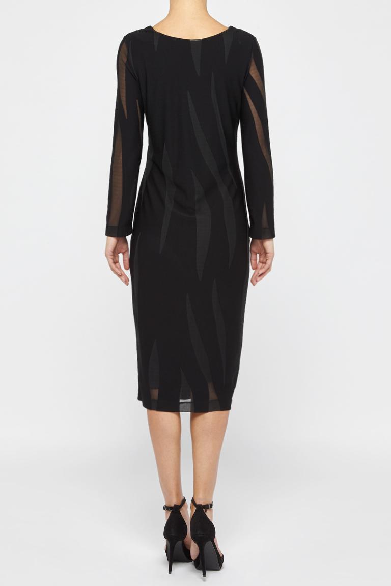 Detailansicht von Ana Alcazar Schlichtes Kleid White Faley