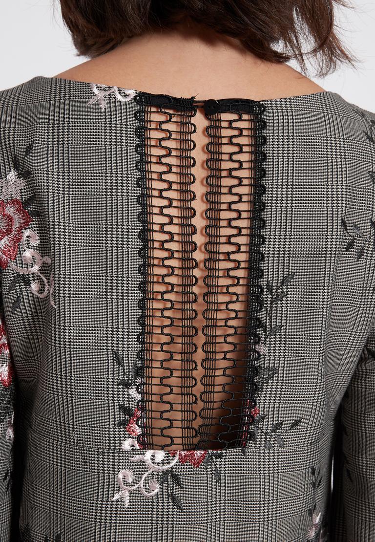 Detailed view of Ana Alcazar A-Shaped Dress Oprawe
