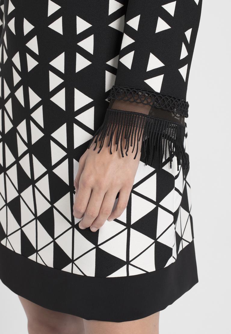 Detailansicht von Ana Alcazar Graphic Kleid Ossanna