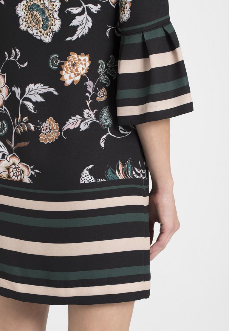 Detailed view of Ana Alcazar Pleated Dress Ozale