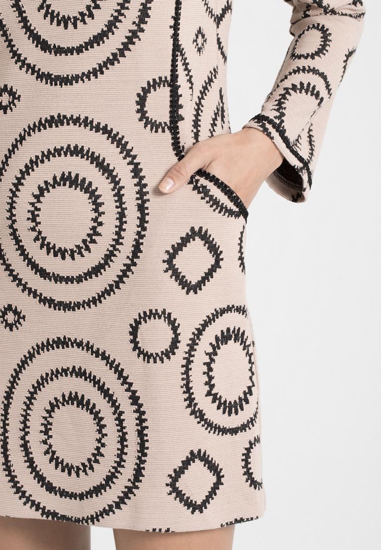 Detailansicht von Ana Alcazar Casual Kleid Perlota Rose