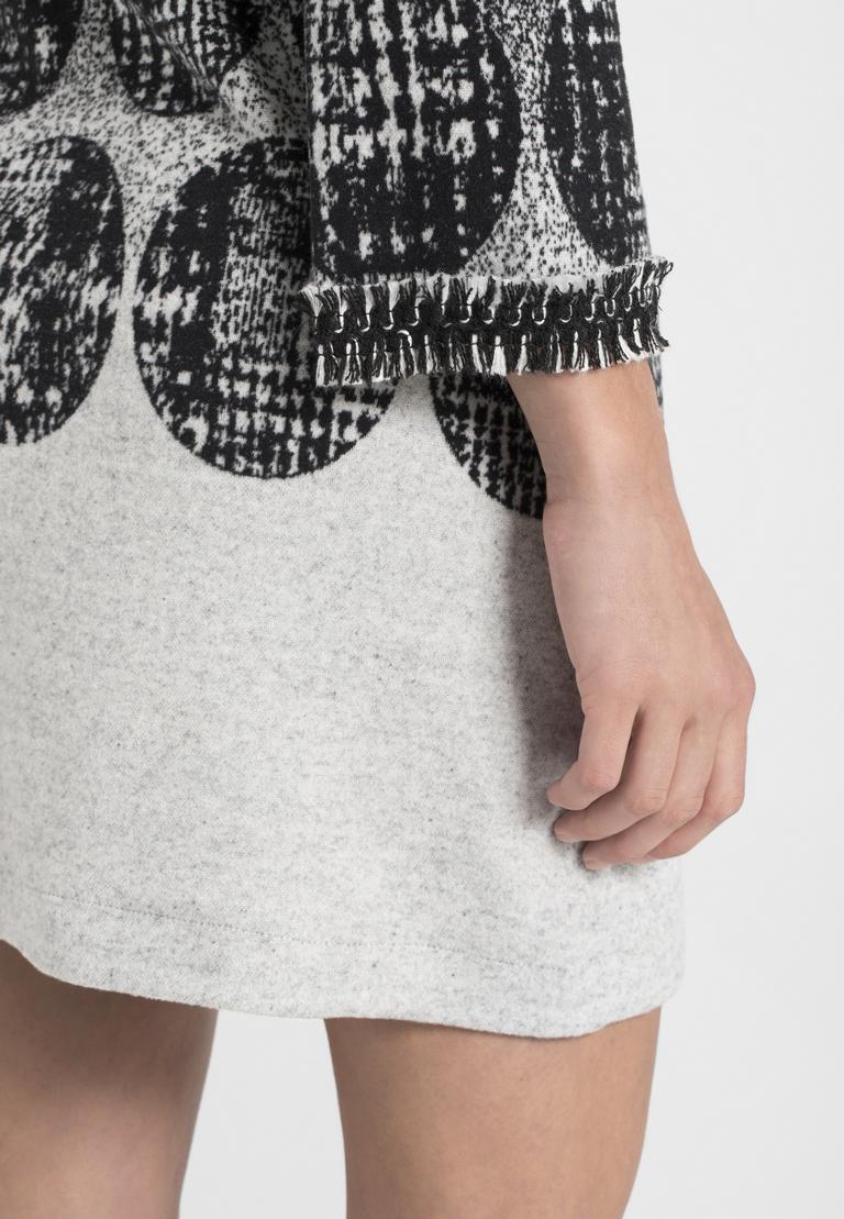 Detailansicht von Ana Alcazar Minikleid Petrena Grey