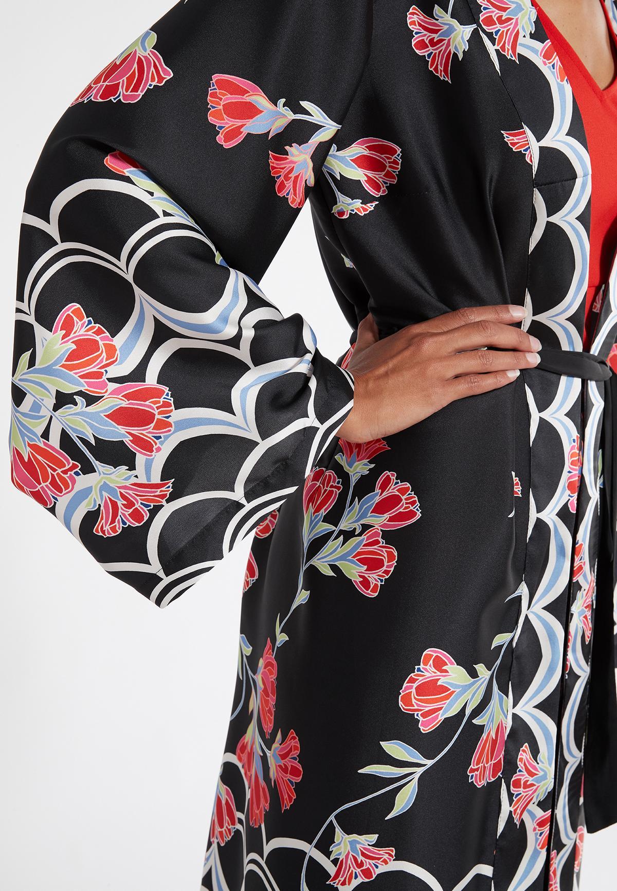 Detailansicht 2 von Ana Alcazar Kimono Sefoma Schwarz