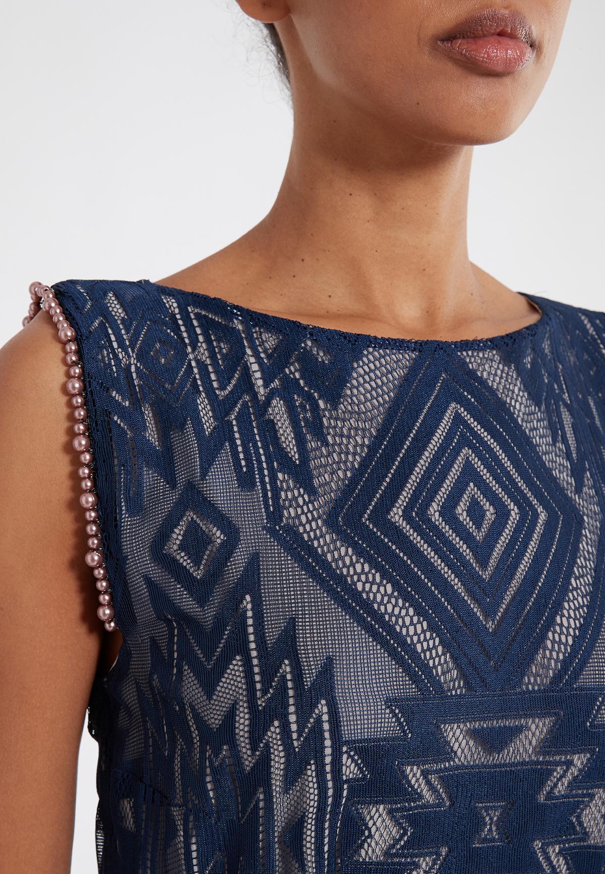 Detailed view 2 of Ana Alcazar Sleeveless Dress Saprona