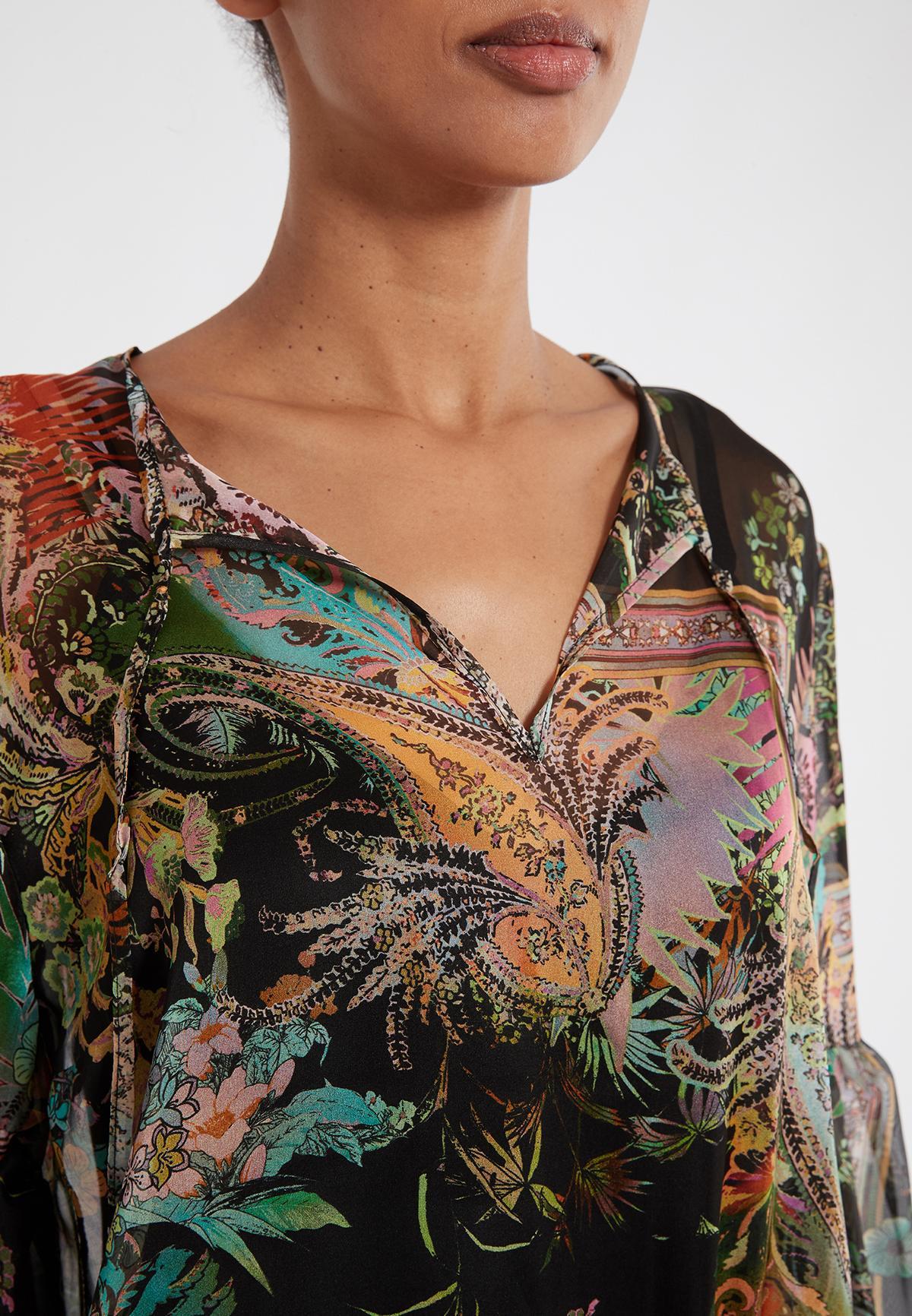 Detailansicht 2 von Ana Alcazar Langarmkleid Sekomy Schwarz