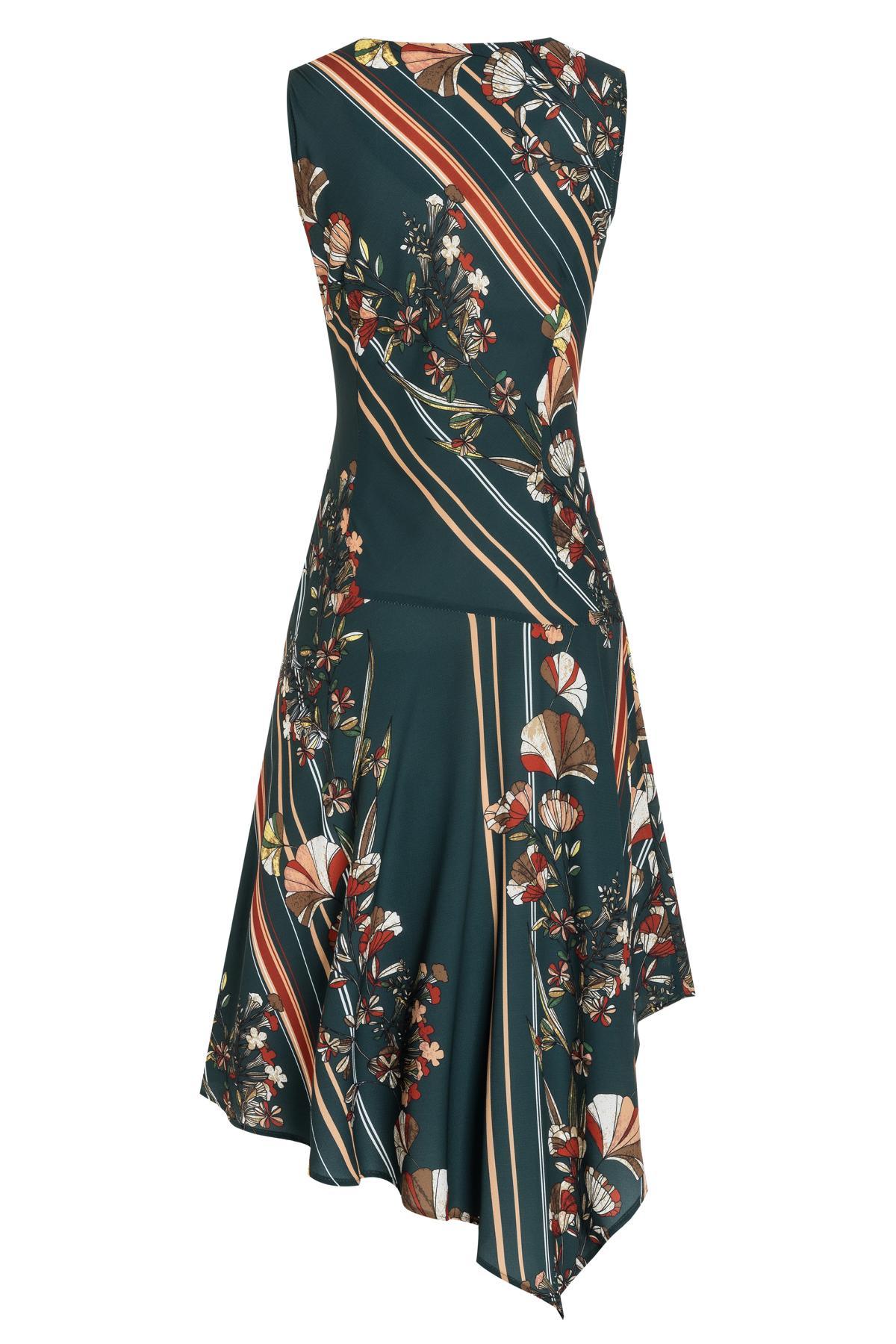 Detailed view 2 of Ana Alcazar Midi Dress Talusa