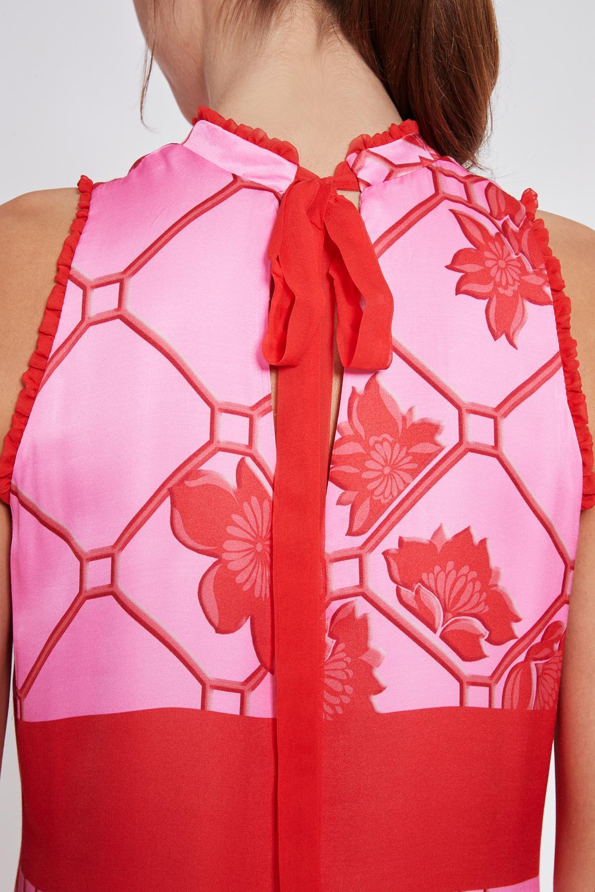 Detailansicht 2 von Ana Alcazar Maxi Kleid Tebone