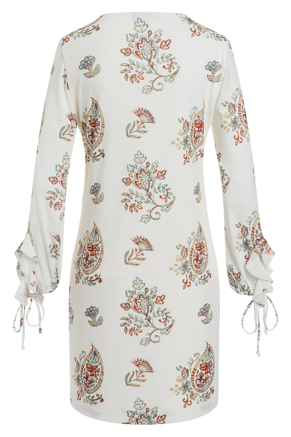 Detailansicht 2 von Ana Alcazar Rüschen Kleid Tesnury