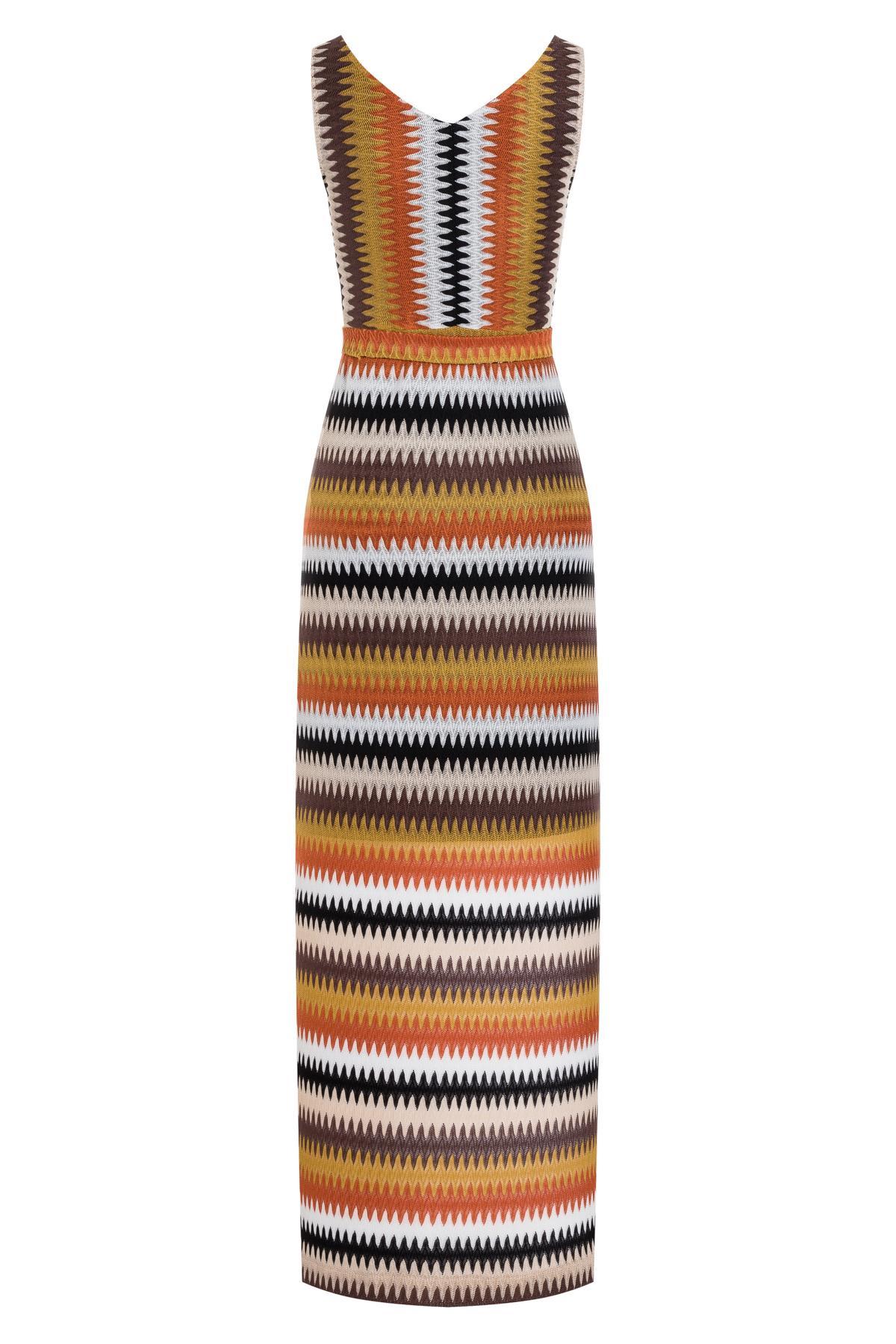 Detailansicht 2 von Ana Alcazar Maxi Kleid Turyse