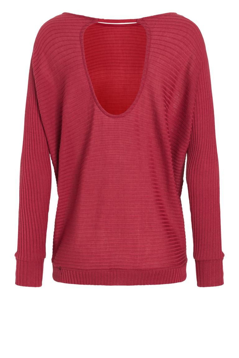 Detailansicht 2 von Ana Alcazar Fledermaus Shirt Pereky Rot