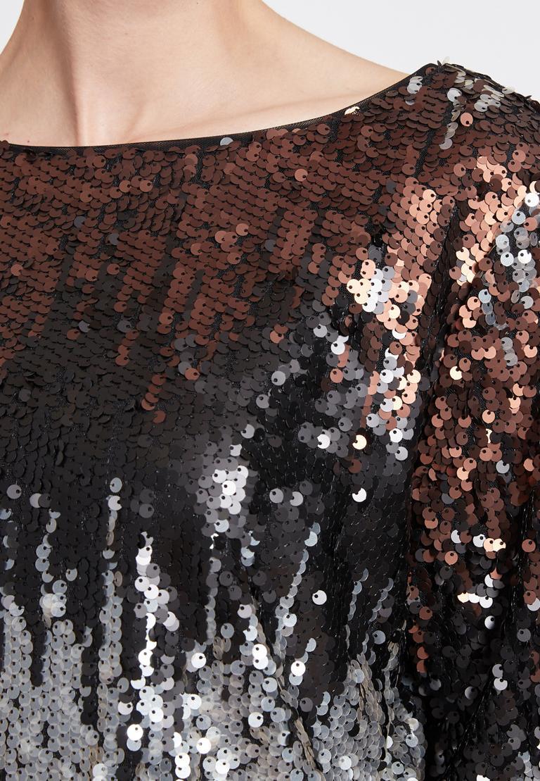 Detailed view 2 of Ana Alcazar Sequin Top Rimay
