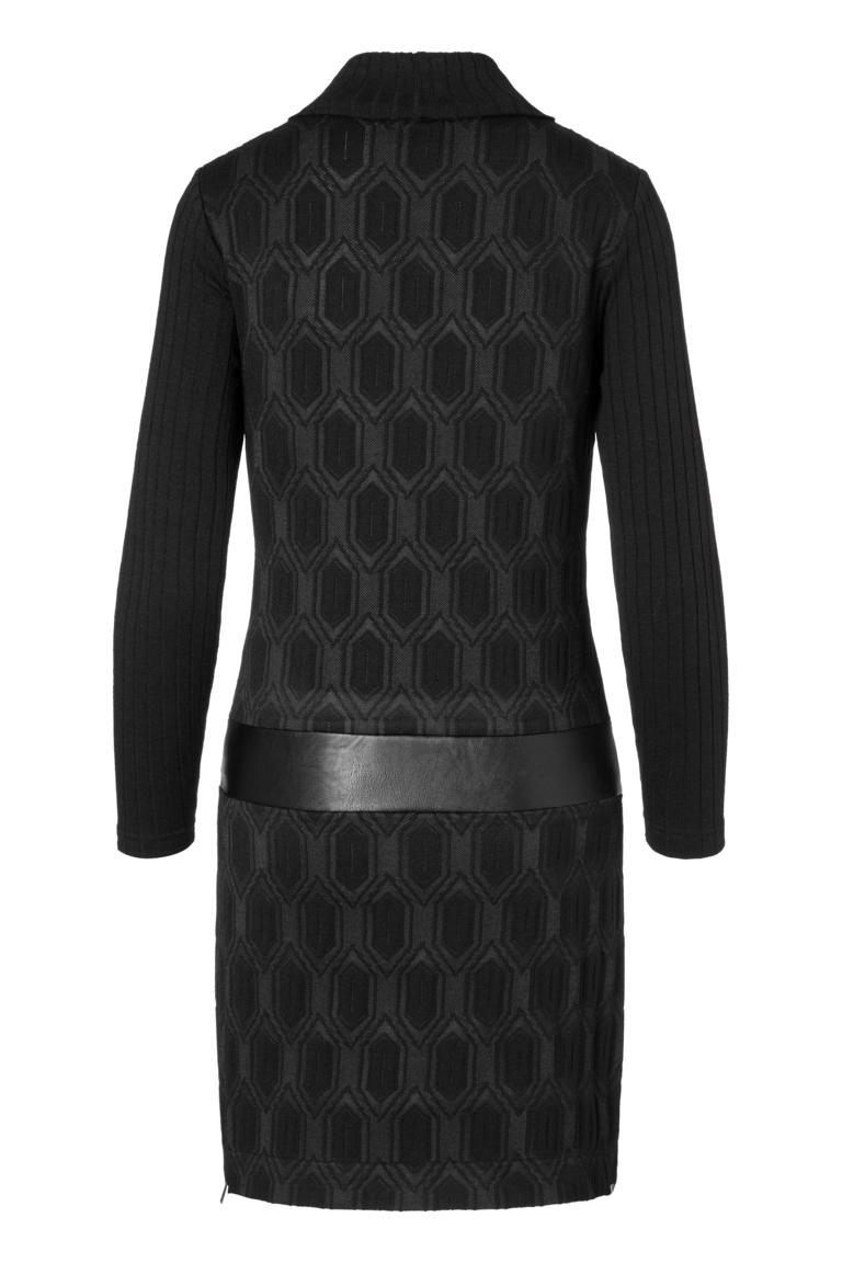 Detailansicht 2 von Ana Alcazar Sixties Kleid Omkaya Schwarz