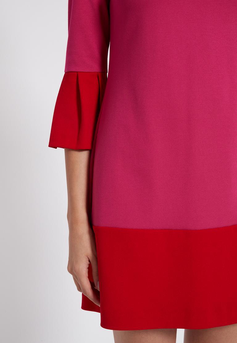 Detailansicht 2 von Ana Alcazar Volantkleid Opalea Rot-Pink