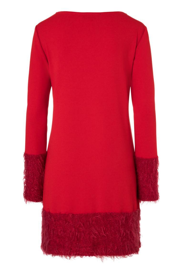 Detailansicht 2 von Ana Alcazar Mix Kleid Petea Rot