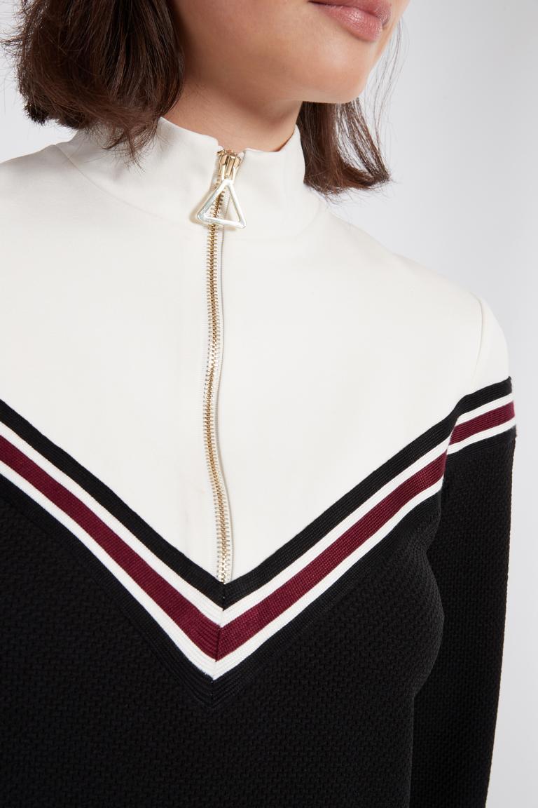 Detailansicht 2 von Ana Alcazar Sportliches Kleid Polia Schwarz