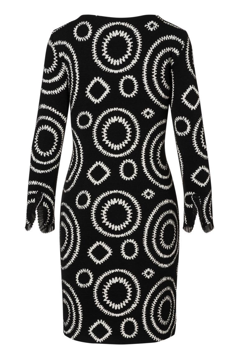 Detailansicht 2 von Ana Alcazar A-Linien-Kleid Pepita Schwarz