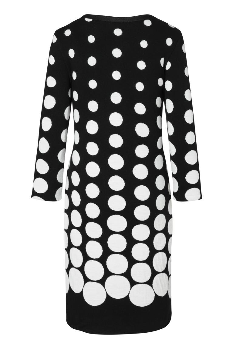Detailansicht 2 von Ana Alcazar Schleifen Kleid Peika Schwarz-Weiß