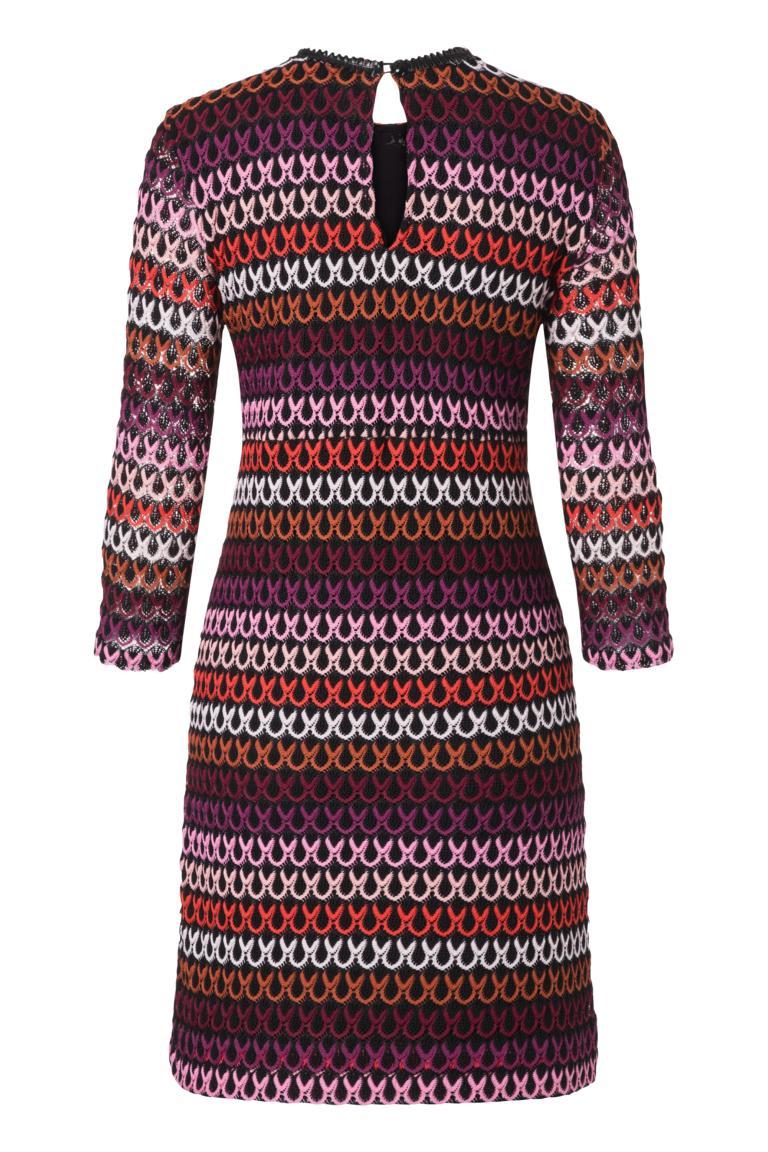 Detailansicht 2 von Ana Alcazar A-Linien-Kleid Plyrawe Bordeaux