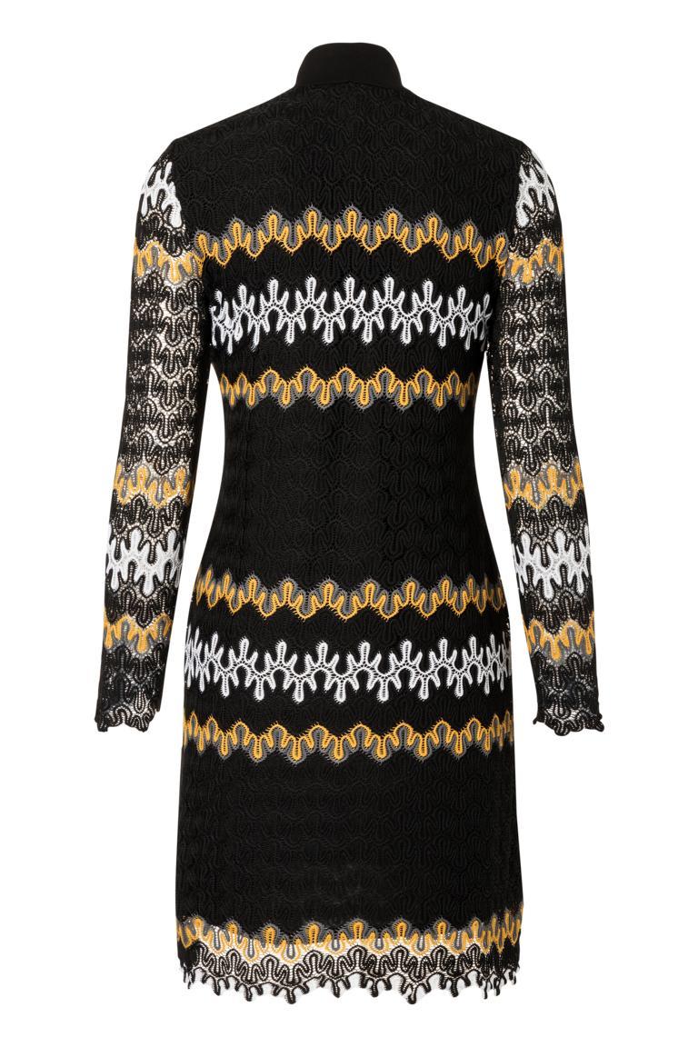 Detailansicht 2 von Ana Alcazar Asymmetrisches Kleid Posira Schwarz
