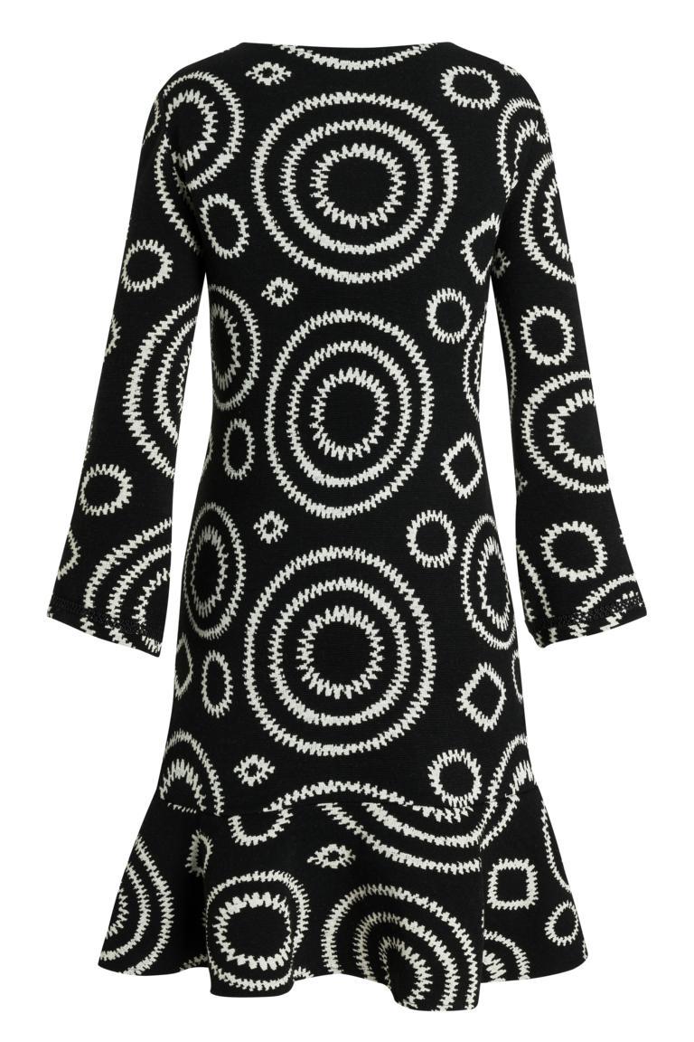 PRODUCT_PICTURE_PRE_7Ana Alcazar Volant Dress Presena Black PRODUCT_PICTURE_SUF_7