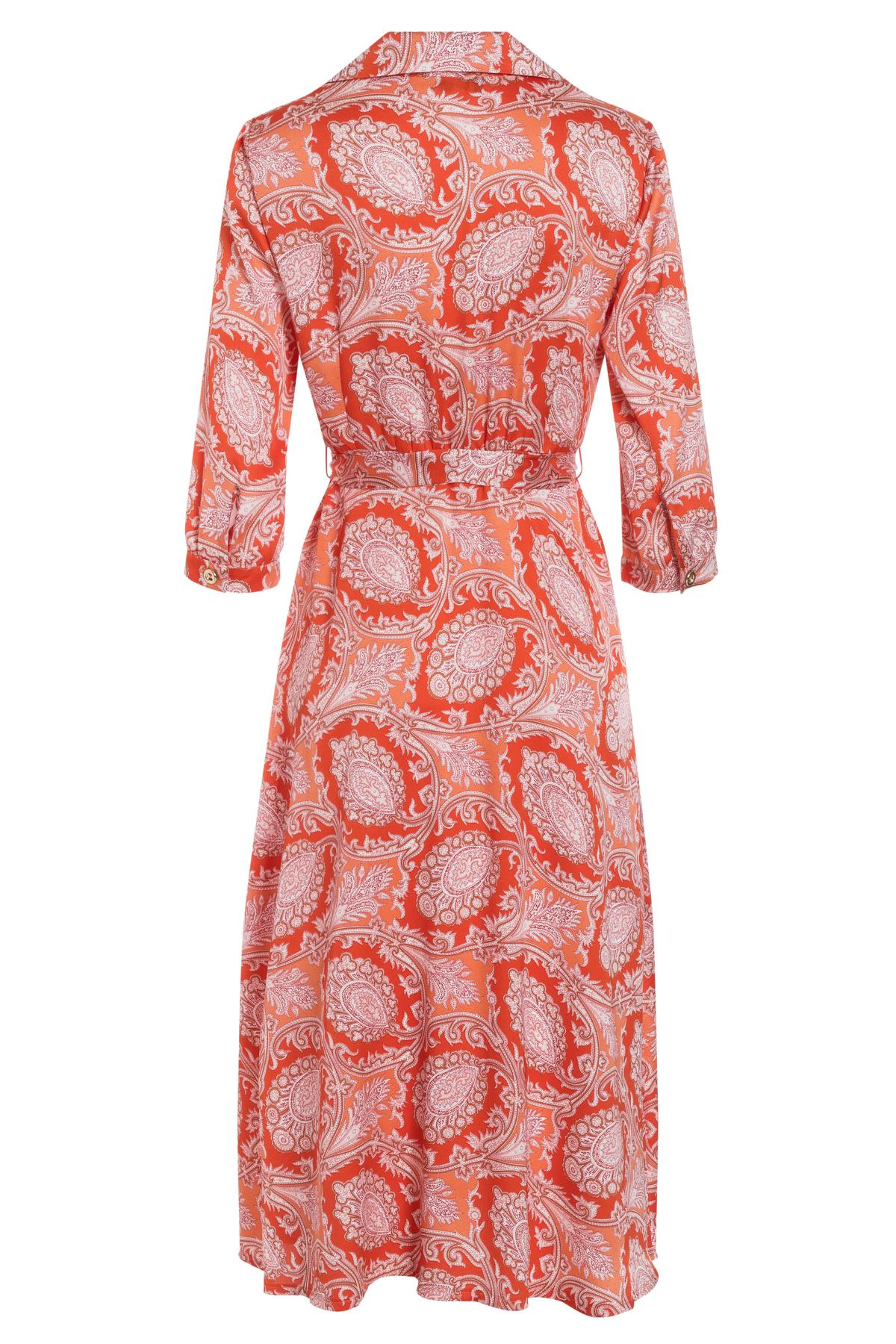 PRODUCT_PICTURE_PRE_7Ana Alcazar Midi Kleid Tefrole Rot PRODUCT_PICTURE_SUF_7